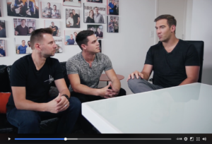 lewis howes, brandon t. adams, greg rollett on ambitious adventures tv show