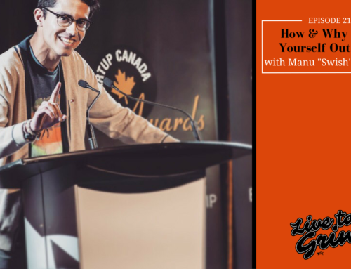 """Episode 213: How & Why to Put Yourself Out There with Manu """"Swish"""" Goswami"""