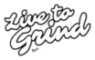 Live To Grind Sticky Logo