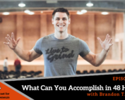 228 episode ltg podcast featured image with brandon t. adams of live to grind and accelerant branding