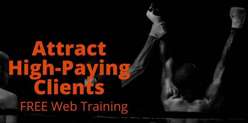 free web training reveals how to attract high paying clients like a magnet