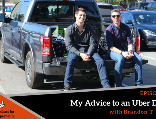 Episode 230: My Advice to an Uber Driver with Brandon T. Adams