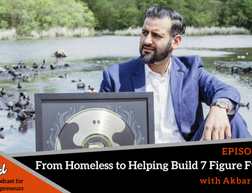 Episode 247: From Homeless to Helping Build 7 Figure Funnels with Akbar Sheikh