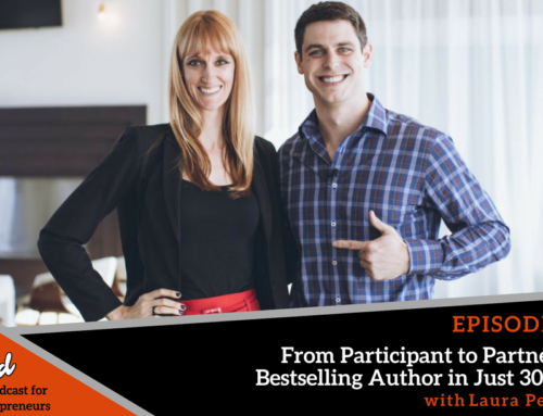 Episode 284: From Participant to Partner and Bestselling Author in Just 30 Days! with Laura Petersen
