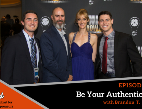 Episode 292: Be Your Authentic Self with Brandon T. Adams