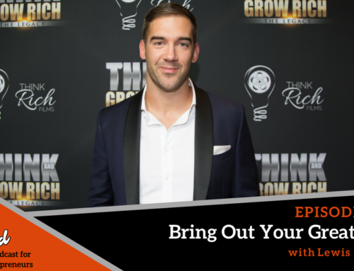 Episode 294: Bring Out Your Greatness with Lewis Howes