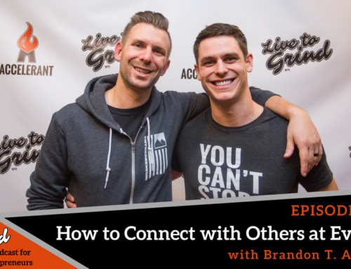 Episode 333: How to Connect with Others at Events with Brandon T. Adams