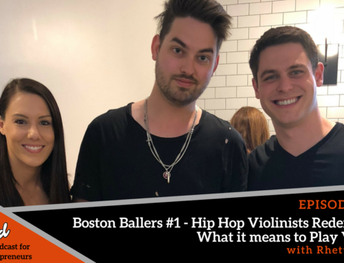 Episode 351: Boston Ballers #1 – Hip Hop Violinists Redefining What it means to Play Violin with Rhett Price