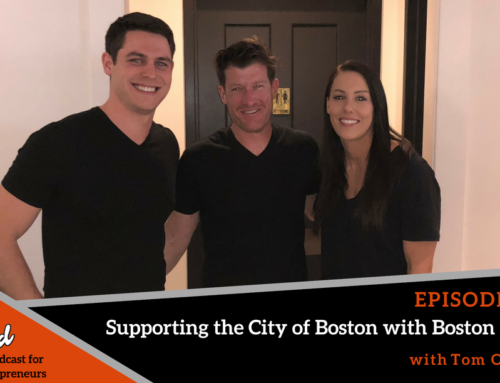 Episode 352: Boston Ballers #2 – Supporting the City of Boston with BostonTweet with Tom O'Keefe
