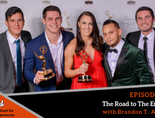 Episode 381: The Road to The Emmys with Brandon T. Adams